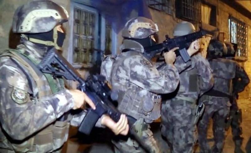 Gaziantep'te 915 polisle uyuşturucu operasyonu: 25 gözaltı