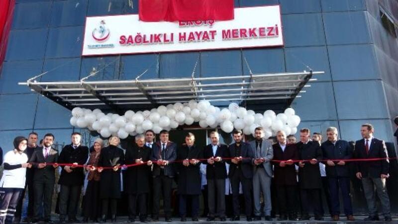 Erciş'te 'Sağlıklı Hayat Merkezi' açıldı