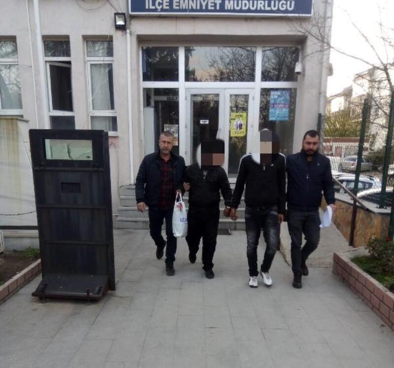 Keşan'da hapis cezaları bulunan 2 kişi yakalandı