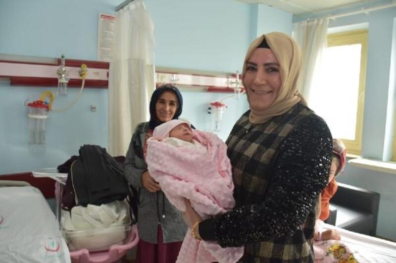Bağlar'da 'Hoş Geldin Bebek'projesi