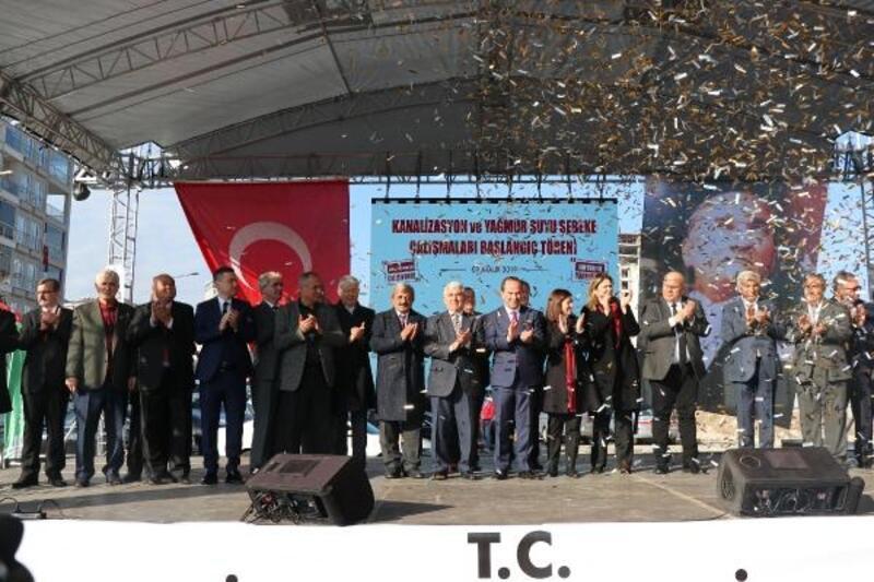 Edirne'de altyapıya ilk kazma vuruldu