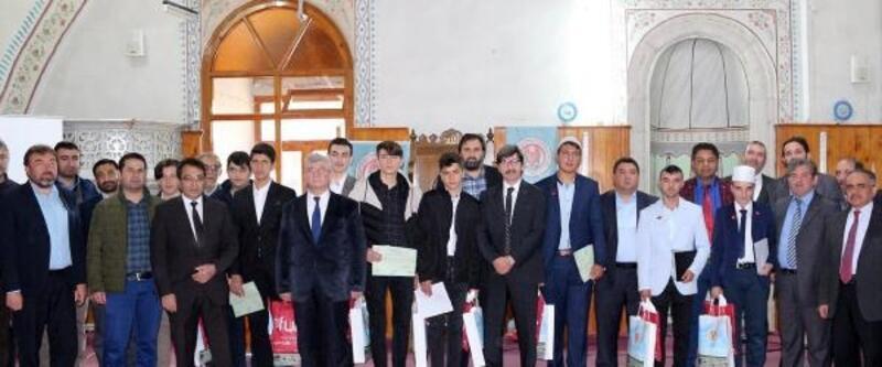 Sandıklı'da Kuran okuma yarışması