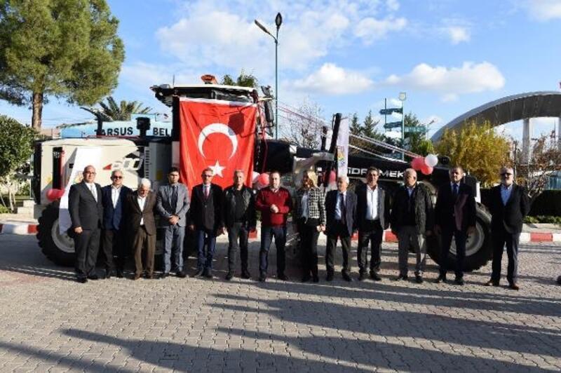 Tarsus Belediyesi yerli üretim greyderi tercih etti