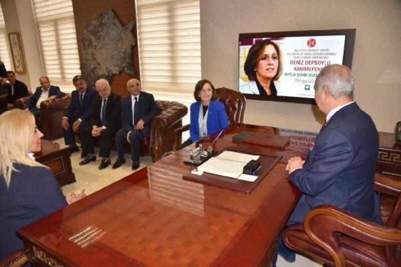 MHP'li Depboylu'dan Osmaniye Belediyesi'ne ziyaret