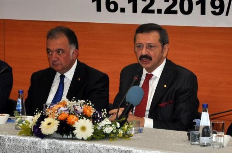 TOBB Başkanı Hisartcıklıoğlu, Osmaniye'de