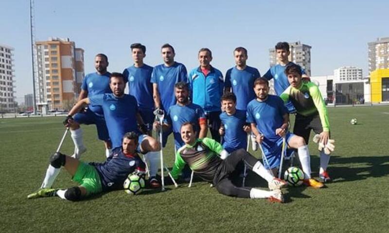 Ampute futbolda Antalya, 3 puanı 6 golle kazandı