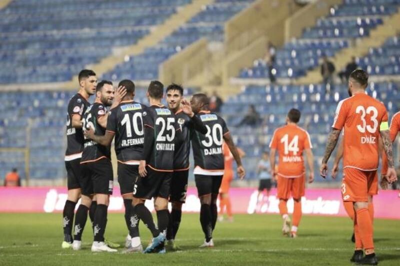 Adanaspor - Aytemiz Alanyaspor: 1-7