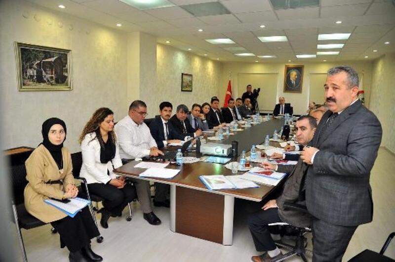 Osmaniye'de aile içi ve kadına karşı şiddetle mücadele toplantısı