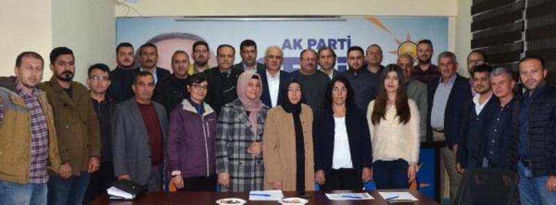 AK Parti Serik'te yeni yönetim