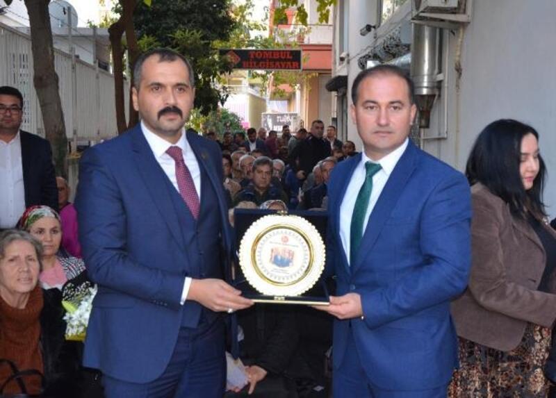 MHP İl Başkanı Durgun Serik'te
