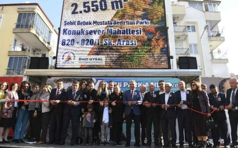 Muratpaşa'da toplu park açılışı