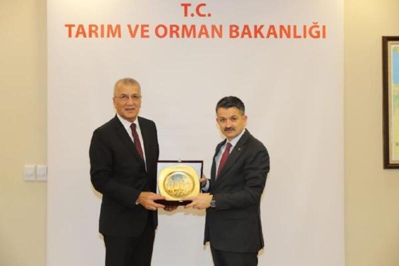 Başkan Tarhan, Ankara'dan projelerle döndü