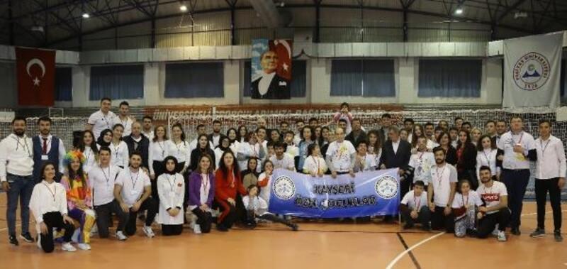 ERÜ'de'Engelli Çocuklara Farkındalık'etkinliği