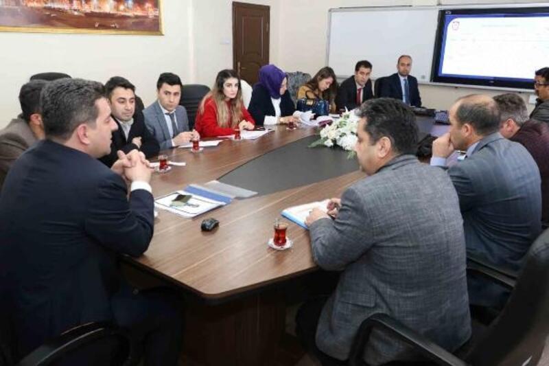 Sivas'ta 'KÖPRÜ' projesi değerlendirme toplantısı