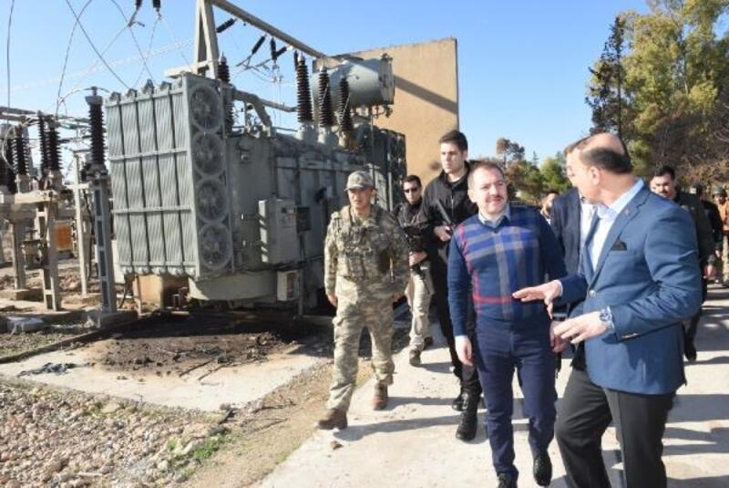 Güvenlik İşleri Genel Müdürü Karaloğlu, Telabyad'da incelemelerde bulundu
