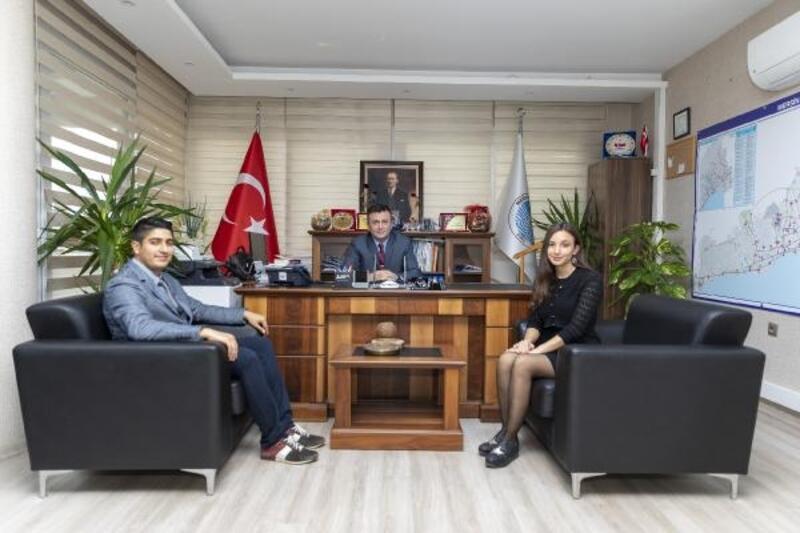 Türkiye'nin ilk ulaştırma mühendisleri, Mersin'de göreve başladı