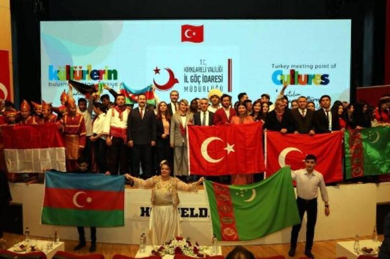 Kırklareli'de, 'Dünya Kültürlerinin Buluşma Noktası Türkiye' etkinliği