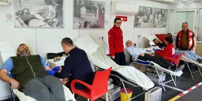 Babaeski'de kan bağışı kampanyası