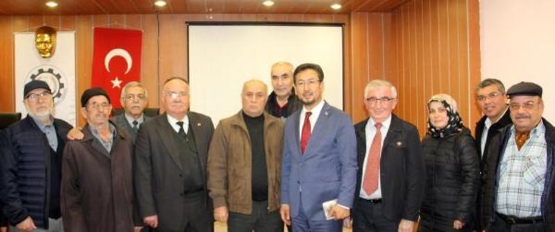 Dinar'da Doğu Türkistan konferansı