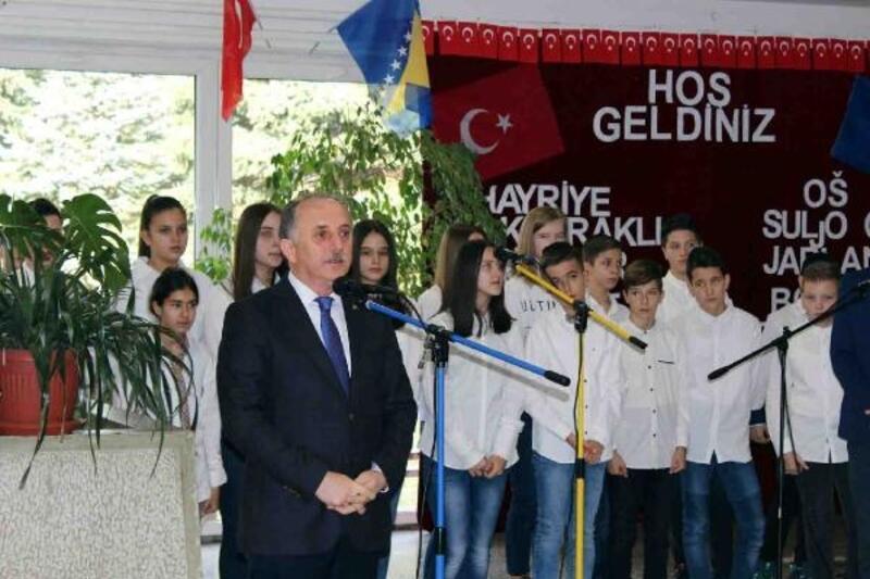 """Başkan Çağırıcı, """"Bosna Hersek bizim ikinci vatanımız"""""""