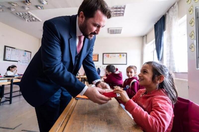 Başkan Bekler öğrencilerle buluştu