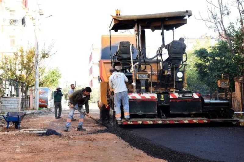 Muratpaşa Mahallesi'nde asfalt çalışmaları