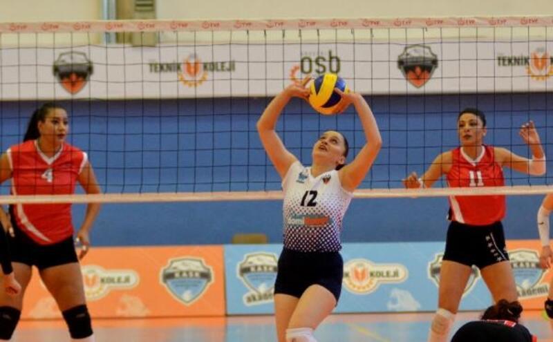 Kayseri OSB Teknik Koleji - Hatay Voleybol: 3-0