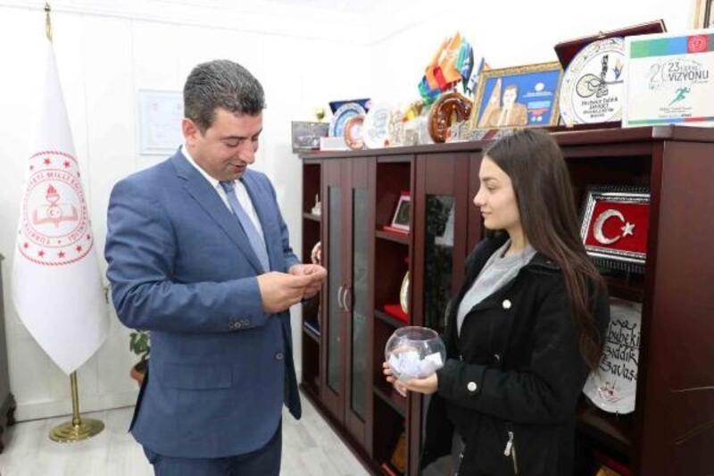 """Sivas'ta öğrencilerden """"Mutluysam Mutlusun"""" projesi"""