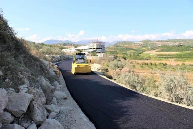 Büyükşehir 9 ayda 126 bin 509 ton sıcak asfalt döktü