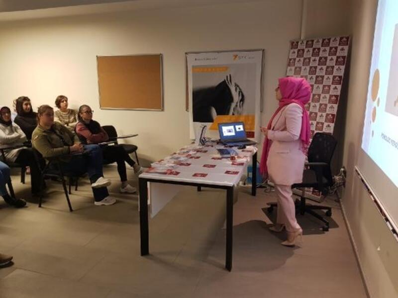 Bursa'da 'aile ve toplumda şiddet' konusuna dikkat çekildi