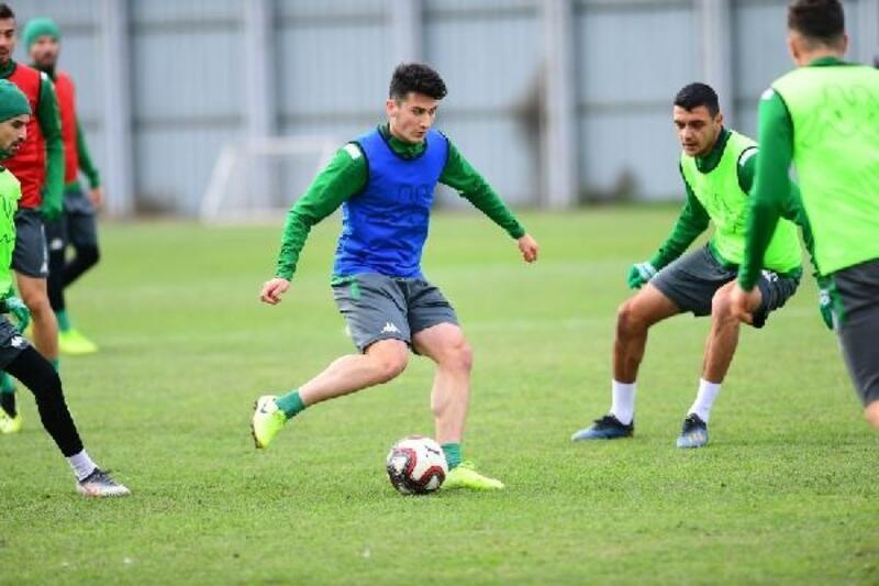 Bursaspor'da Hatayspor maçı hazırları başladı