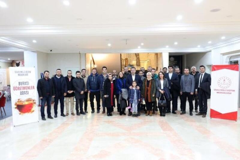 Sivas'ta 'Öğretmenler odası' buluşmaları