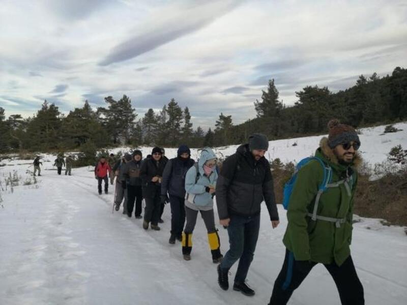 Koyulhisar'da 'Adım adım doğa yürüyüşü' projesi