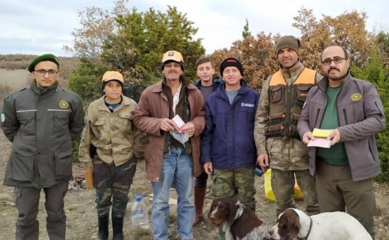 Afyonkarahisar'da avcılar denetlendi