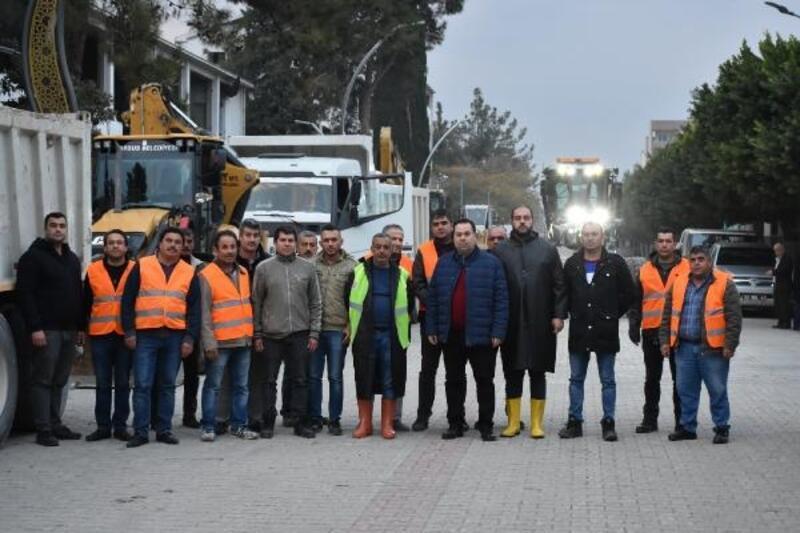 Tarsus Belediyesi teyakkuzda