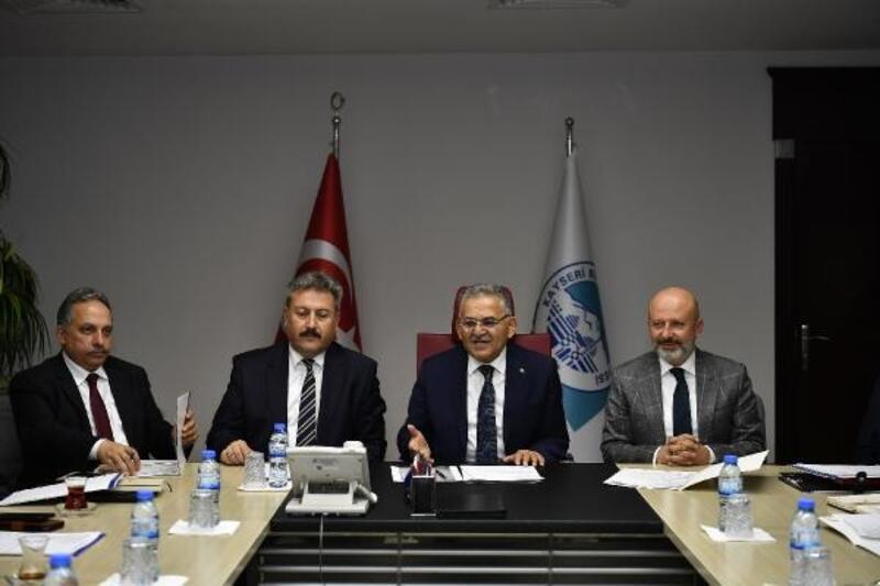 Büyükşehir'de, Erciyes planlama toplantısı