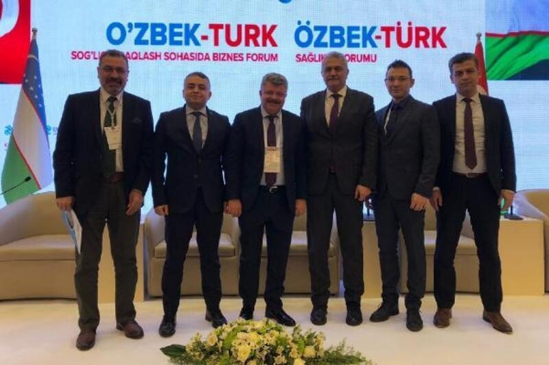Mersin Şehir Hastanesi, Özbekistan'da anlatıldı