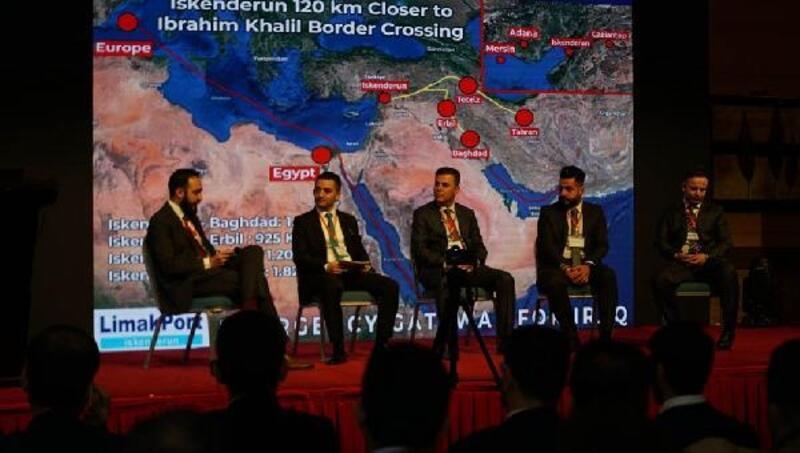 Iraklı iş insanlarına İskenderun Limanı'nın avantajları anlatıldı