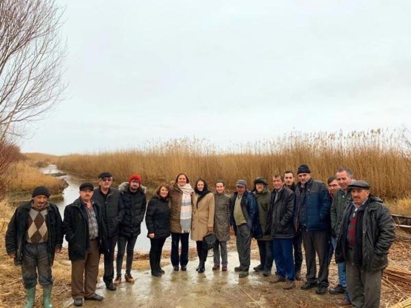Milletvekili Köksal, Eber Gölü'nü inceledi