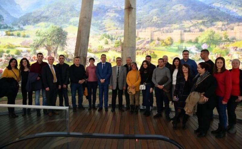 Makedon heyet, Osmangazi Belediyesi'nin projelerini inceledi