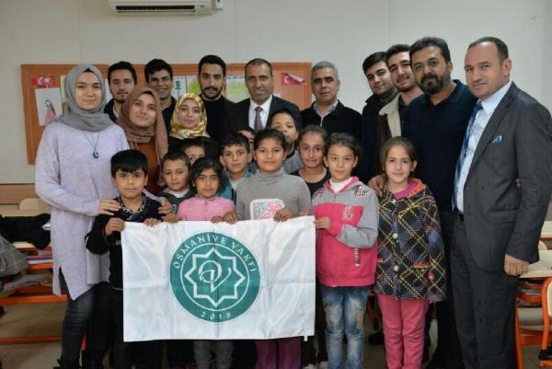 Osmaniye Vakfından okul ziyaretleri