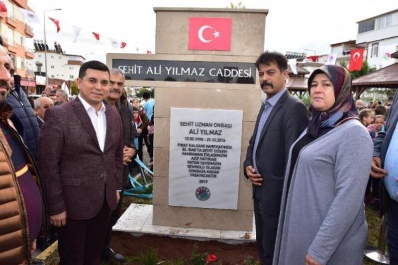 Kepez'in Şehit Ali Yılmaz Caddesi açıldı