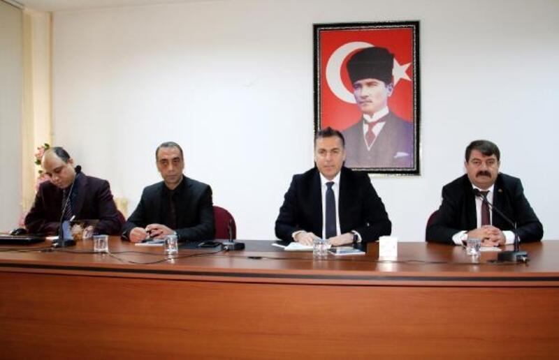 Dinar'da değerlendirme ve istişare toplantısı