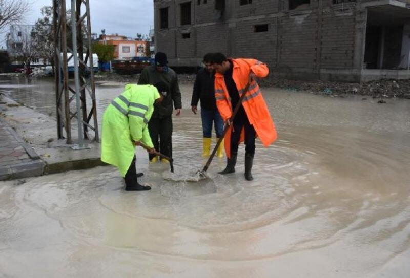 Ceyhan Belediyesi, sele karşı teyakkuzda