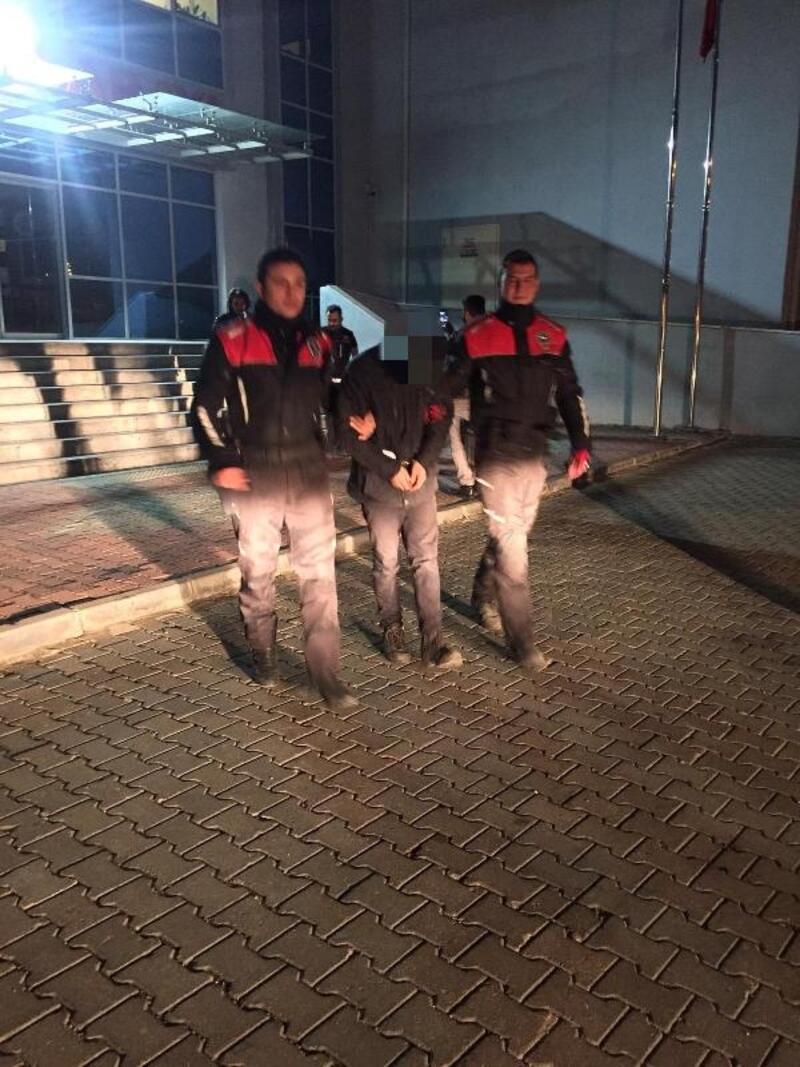 İnşaat malzemeleri çalan şüpheli tutuklandı