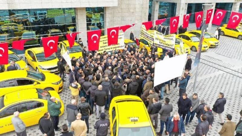 Başkentli taksicilerden, Başkan Yavaş'a destek