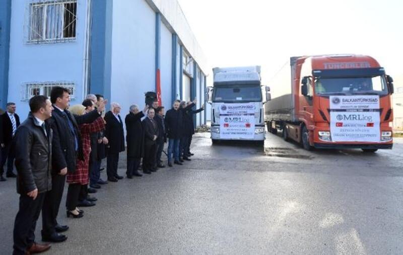 Osmangazi'den Arnavutluk'a yardım eli