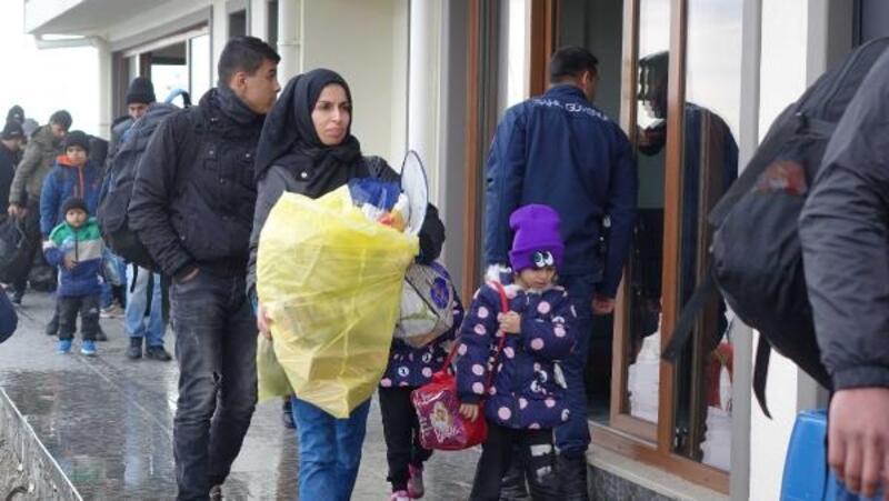 Çanakkale'de 189 kaçak göçmen yakalandı