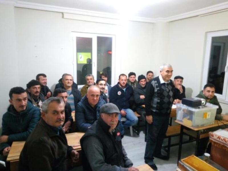 Yenişehir'de arıcılık kursu