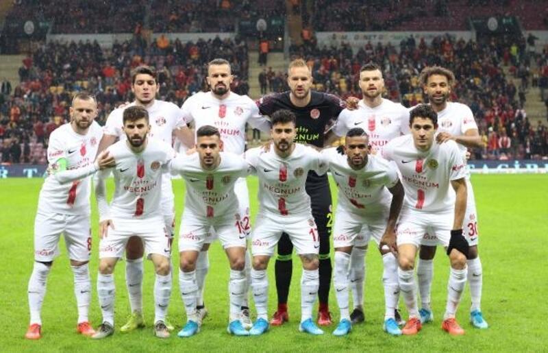 Antalyaspor 10 maçtır kazanamıyor